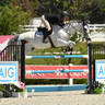 Lisa Goldman & Hindsight  win the $5,000 Johnson Horse Transportation Open - 1.40m ©Andrew Ryback Photography