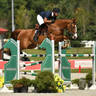 Emanuel Andrade & Anastasia Du Park win the $5,000 Kindred Bio 1.40m Open Jumper Prix  ©Andrew Ryback Photography
